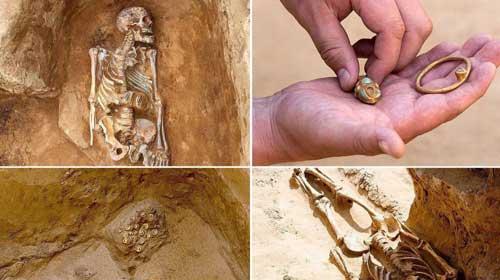 کشف بقایای یک شاهزاده ۲ هزار ساله
