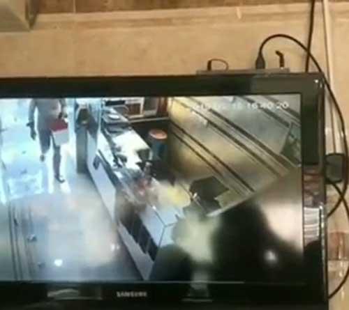 سرقت مسلحانه ناکام امروز در خیابان امام (ره) شهر نورآباد