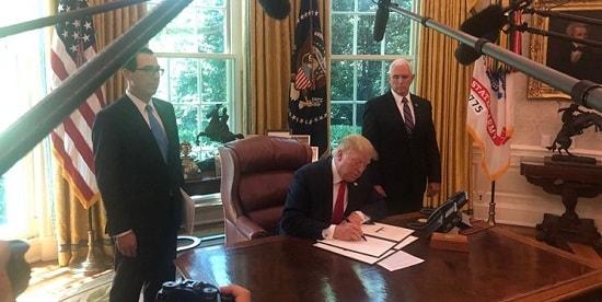 اعمال تحریم های جدید ترامپ علیه ایران