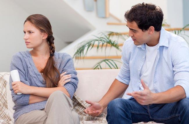۷ نکته برای رفتار با همسر لجباز