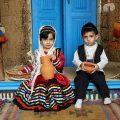 مدل های لباس محلی بچه گانه