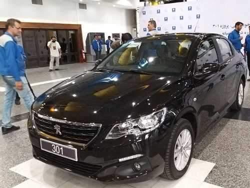 معرفی خودروی پژو 301 تولید داخل