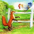 قصه کودکانه روباه و خروس