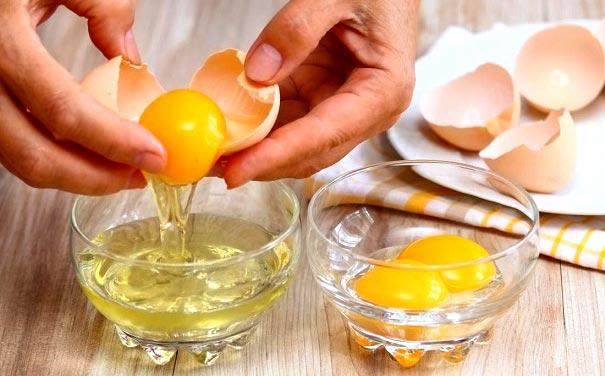ماسک سفید کننده تخم مرغ برای زیباتر شدن