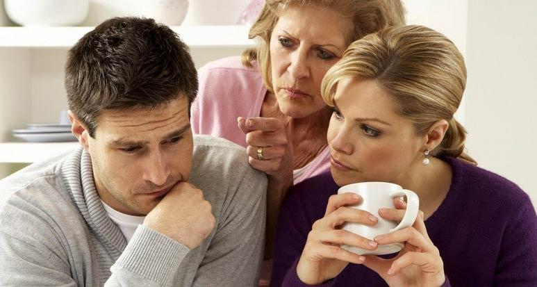 چگونگی رفتار با خانواده همسر