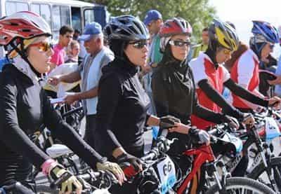 دوچرخهسواری بانوان مورد رضایت امام زمان نیست.
