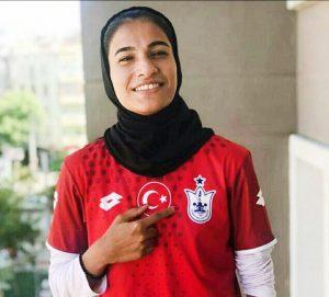 دختر فوتبالیست ایرانی بازیکن تیم ملی جوانان لژیونر شد.