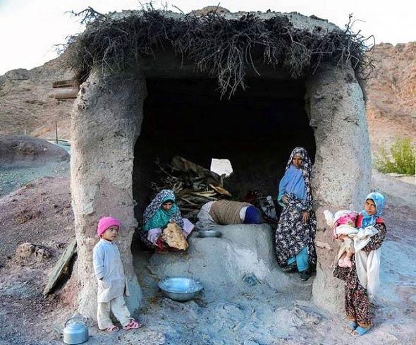روستایی عجیب در ایران + تصاویر
