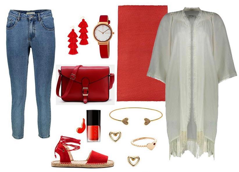 ۵ ست لباس پیشنهادی با مانتوی سفید