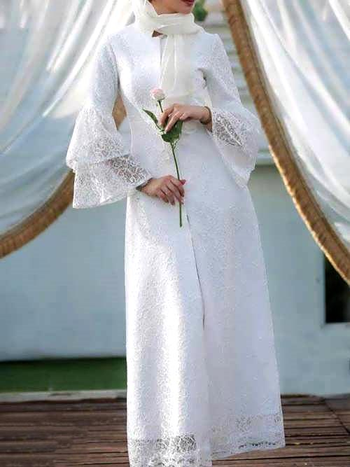 مدل های مانتو روشن و شیک برای مراسم عقد