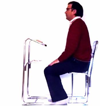 آموزش تصویری خواندن نماز به صورت نشسته + تصاویر