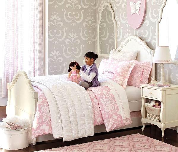 چگونه اتاق خواب دختر 4 ساله ام را جدا کنم؟
