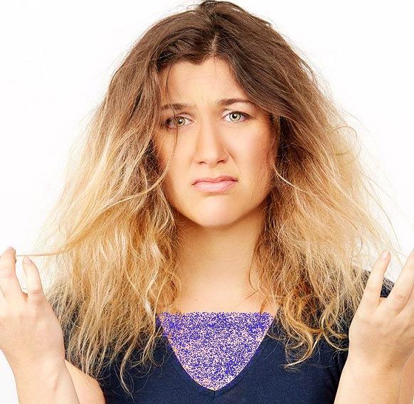 چگونه به موهای خشک آبرسانی کنیم؟