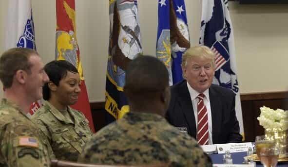 ترامپ با طرح حمله به ایران مخالفت کرد.