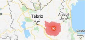 زلزله ۵.۹ ریشتری شمال و شمالغرب ایران را لرزاند.