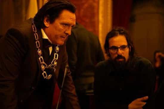 ایفای نقش مایکل مدسن در یک فیلم ایرانی