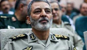 فرمانده کل ارتش پاسخ تهدید تازه ترامپ را داد.