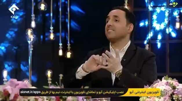 قطع سخنان انتقادی امیرحسین رستمی در پخش زنده تلویزیون