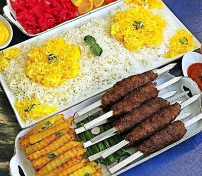 طرز تهیه کباب تابه ای سیخی