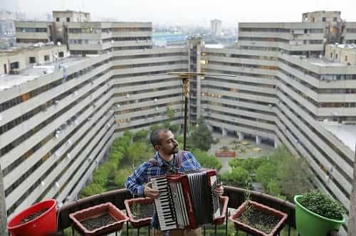 تصاویر نوازندگان ایرانی در قرنطینه، جهانی شد