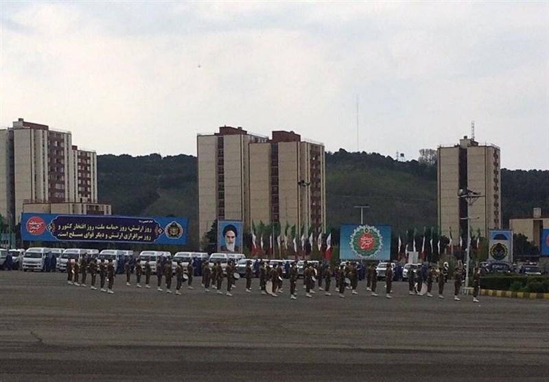 «رژه خدمت» ارتش آغاز شد