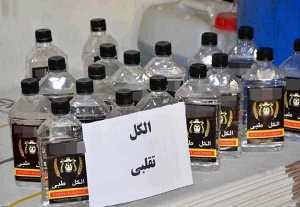 دستگیری عامل توزیع الکل های تقلبی در آبادان