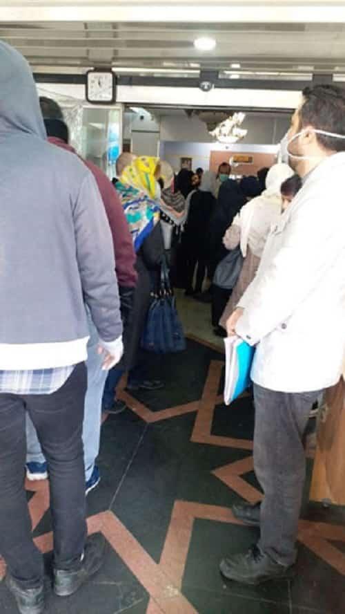 تجمع مقابل اداره کار، سرگیجه بیمه بیکاری!