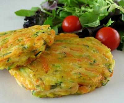 روش های پخت پنکیک سبزیجات