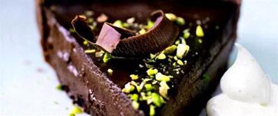 طرز تهیه دسر شکلاتی پاییزی