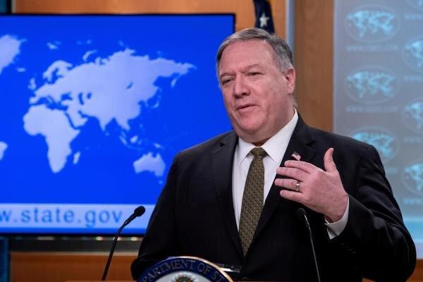 واکنش پمپئو به قانون امنیت ملی چین