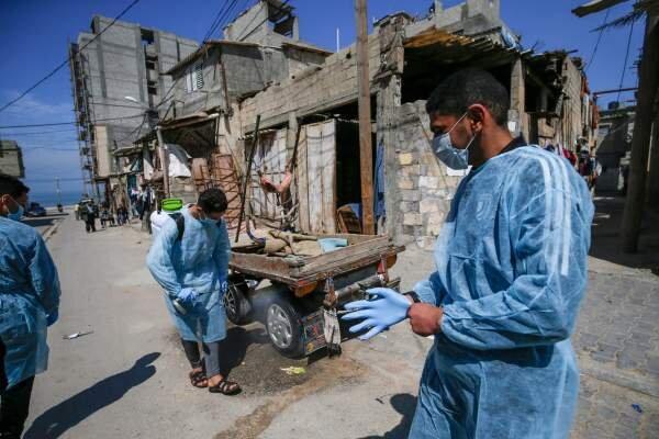 نخستین مورد مرگ ناشی از کرونا در نوار غزه ثبت شد