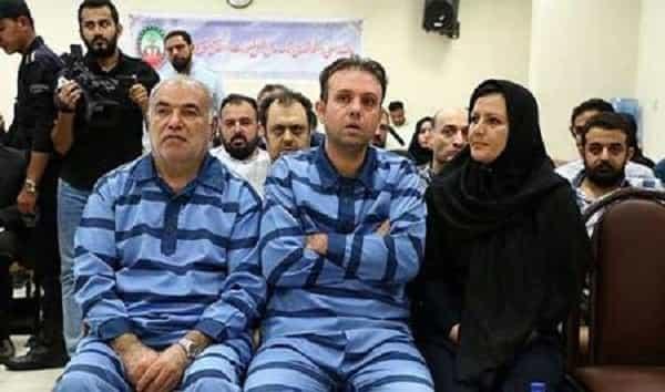 تصویری از سلطان خودرو و همسرش در دادگاه