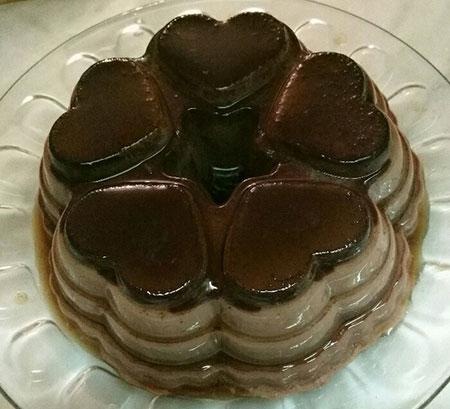 طرز تهیه کرم کارامل شکلاتی