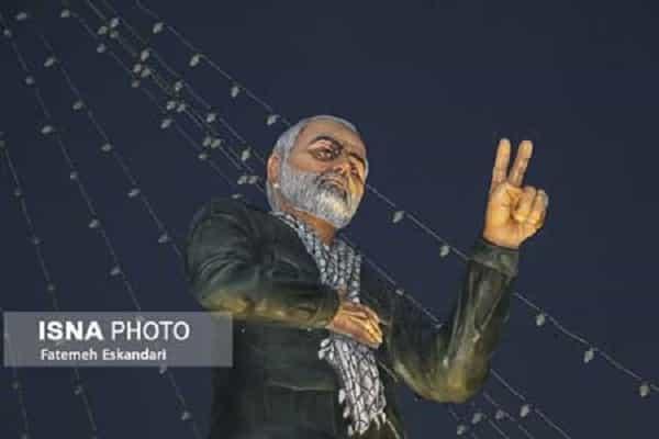تندیس شهید سردار سلیمانی تصحیح میشود