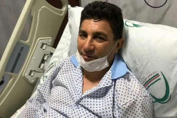 بستری شدن قلعه نویی در بیمارستان