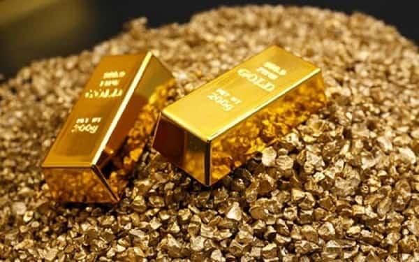 نزولی شدن طلای جهانی